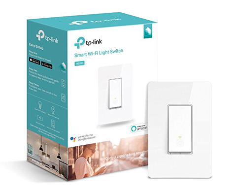 8. TP-Link Smart Single Pole Wi-Fi Light Switch