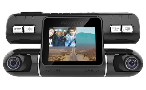 11. Pruveeo MX2 Front and Rear Dash Cam