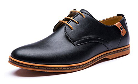 5. Seakee Leisure Lace-Up Flat Oxfords