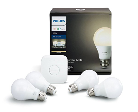 2. Phillips Hue White Bulb Starter Kit