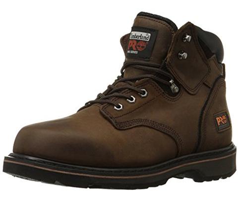 11. Timberland Pro 6-Inch Pit Boss Soft Toe Boots