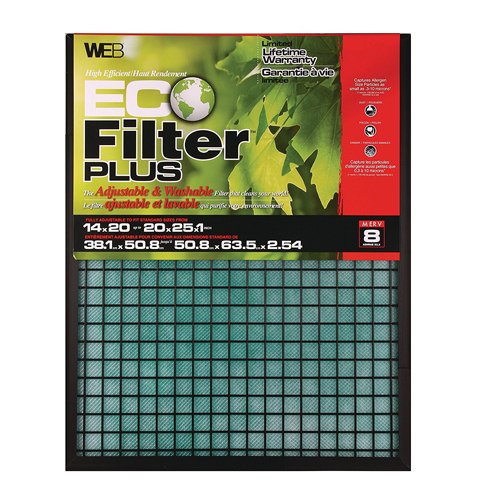 10. WEB Adjustable Eco Filter