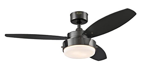 Top 10 best ceiling fans with lights in 2018 reviews westinghouse 7876400 42 inch indoor ceiling fan with light aloadofball Gallery