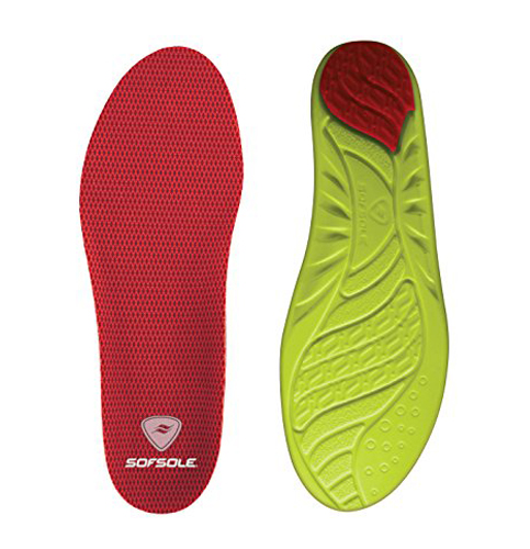 6. Sof Sole Arch Full Length Shoe Insole
