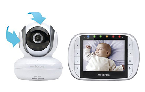 3. Motorola MBP36S Video Baby Monitor