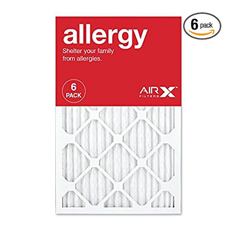 2. AIRx Allergy MERV 11 Pleated Air Filter