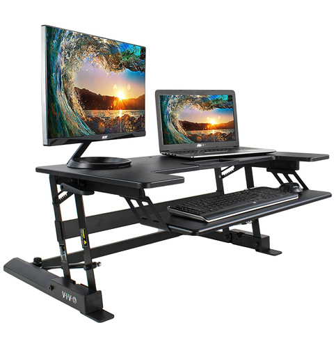2. Vivo Adjustable Standing Desk