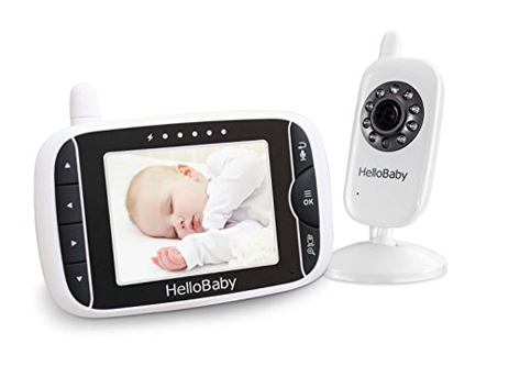 5. Hello Baby Video Baby Monitor with Night Vision