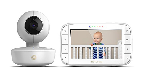 8. Motorola MBP36XL Portable 5-Inch Video Baby Monitor