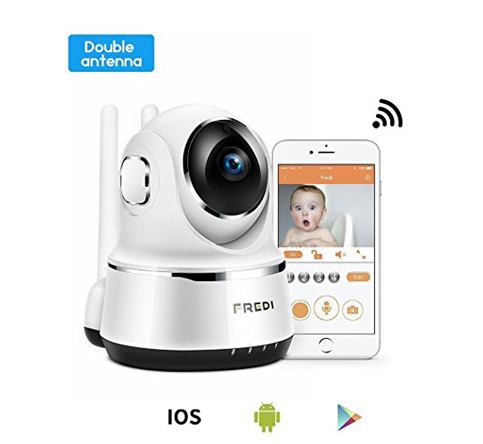 7. FREDI 720P Wireless Baby Monitor