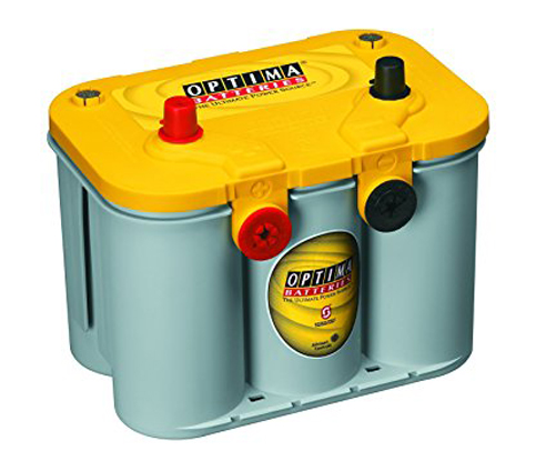 5. Optima Batteries 8014-045 Dual Purpose Battery (yellow top)