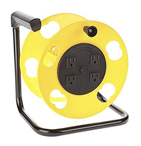 4. Bayco SL-2000PDQ 4-Outlet Cord Storage Reel
