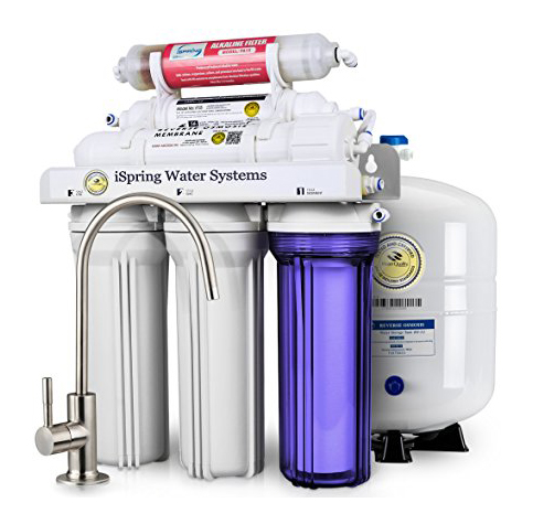 2. iSpring RCC7AK Under Sink 6-Stage Water Filtration System