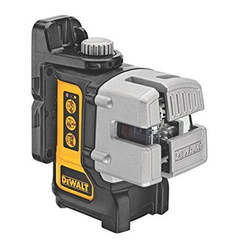 3. DEWALT DW089K 3-Beam Line Laser (Self-Leveling)