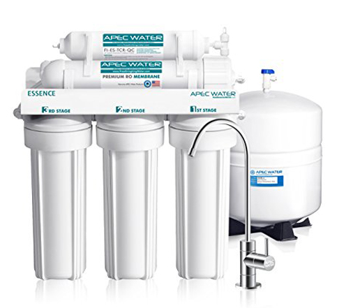 1. APEC Top Tier 5-Stage Reverse Osmosis Water Filter System