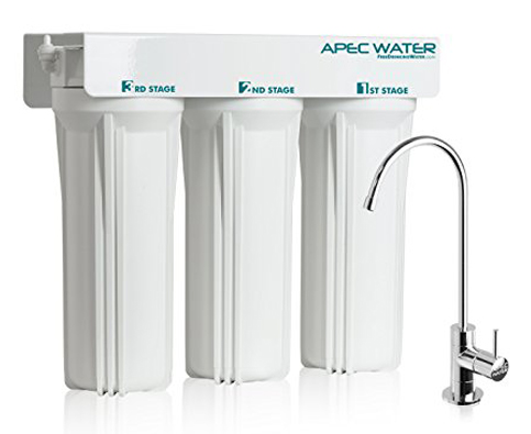 9. APEC WFS-1000 3-Stage Water Filter System