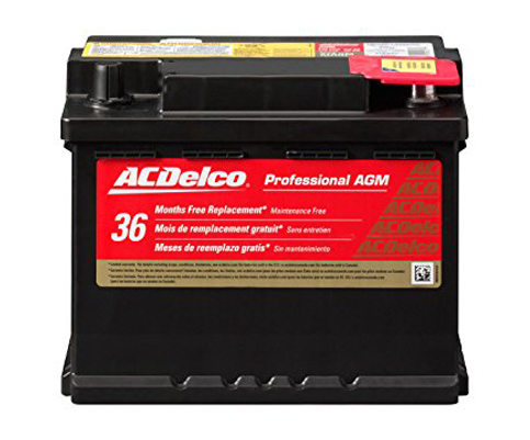 4. ACDelco 47AGM Professional Automotive Group 47 Battery