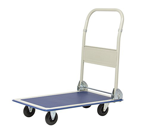 7. Best Choice Products 330lbs Folding Platform Cart