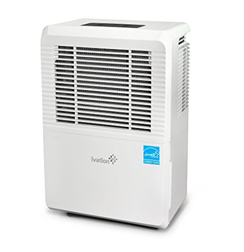 7. Ivation 70-Pint Energy Star Dehumidifier