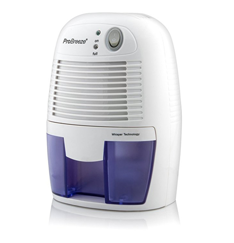 3. Pro Breeze 150 Square Feet Mini Dehumidifier
