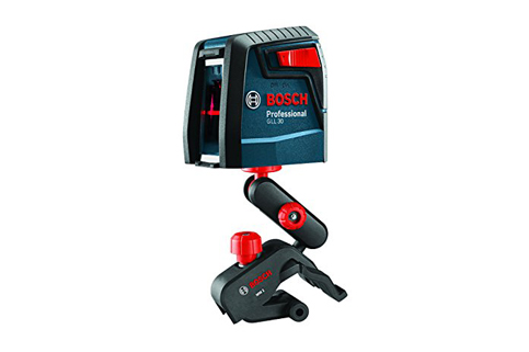 7. Bosch GLL 30 Self Leveling Cross Line Laser