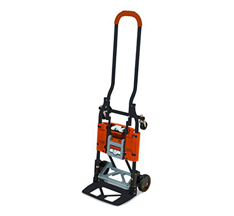 4. Cosco Shifter 300 lb Capacity Multi-Position Folding Hand Truck