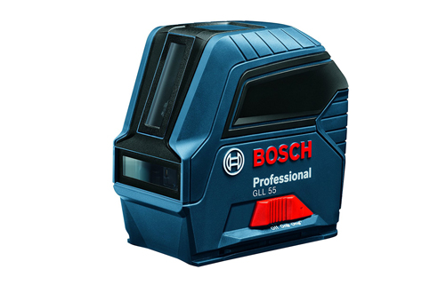 8. Bosch GLL 55 Self-Leveling Cross-Line Laser