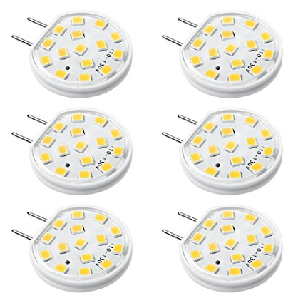 4. Kakanou Dimmable G8 LED Bulbs