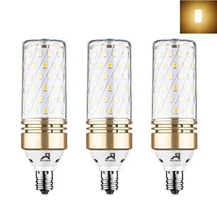 10. Rayhoo E12 Base Candelabra LED Bulbs
