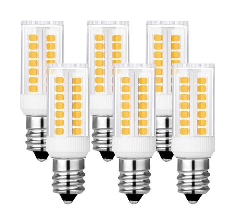 8. Kindeep Dimmable E12 Candelabra LED Bulbs