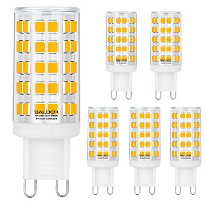 3. Balder Dimmable G9 6W LED Bulbs