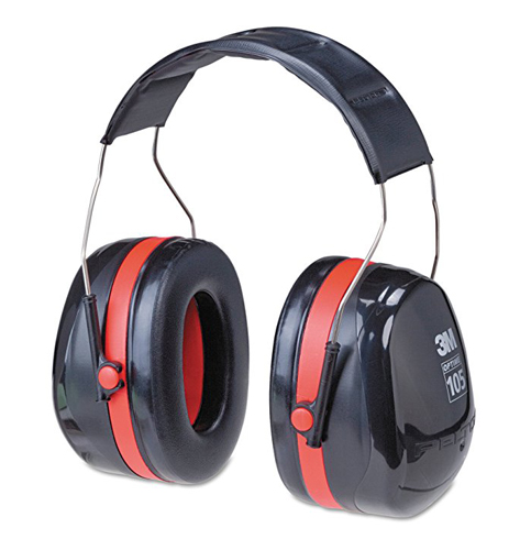 7. 3M Peltor Optime 105 Over the Head Earmuff