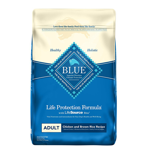 2. Blue Buffalo Adult Dry Dog Food