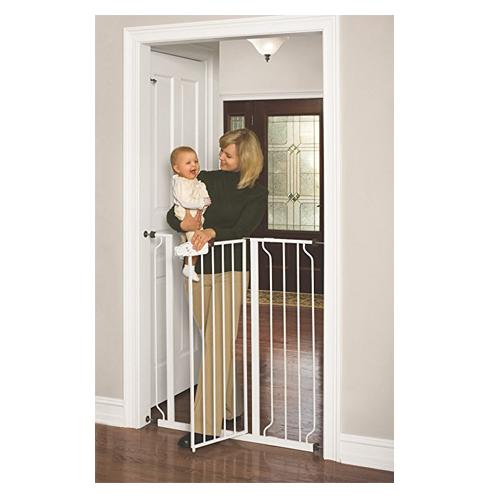 8. Regalo Easy Step Extra Tall Walk Thru Gate