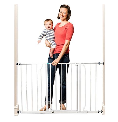 7. Regalo Easy Open 50 Inch Wide Baby Gate
