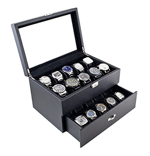 10. Caddy bay collection watch case