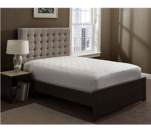 5. Grand Fitted Quilted Mattress Pad Cover