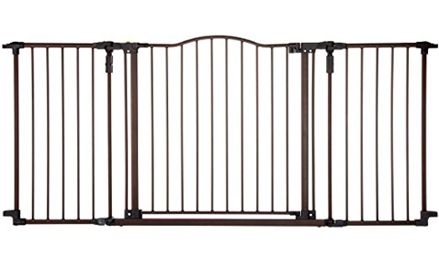 5. Supergate Deluxe Décor Gate, Bronze
