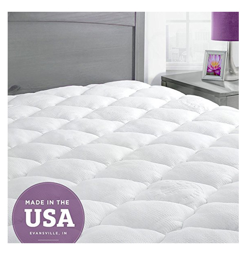 9. ExceptionalSheets Bamboo Mattress Pad