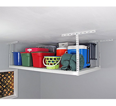 5. SafeRacks 4x8 Overhead Storage Rack