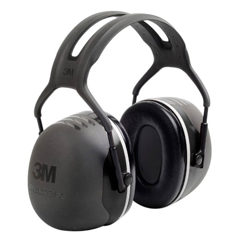 2. 3M Peltor X-Series Over-the-Head Earmuffs