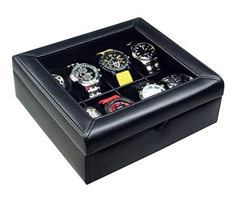 7. Ikee design deluxe watch case