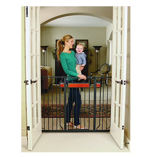 6. Regalo Home Accents Extra Tall Walk Thru Gate