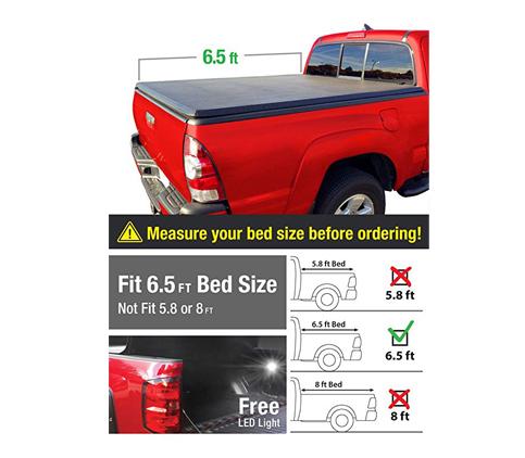 7. MaxMate Truck Tonneau Cover