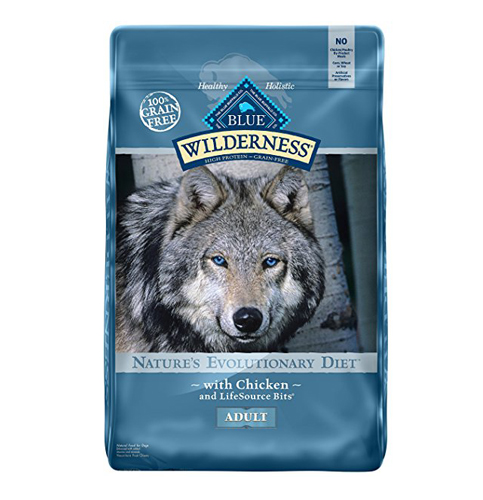 3. BLUE Wilderness Adult Dry Dog Food