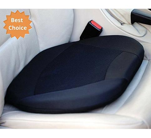 6. Kenley Car Seat Cushion Memory Foam