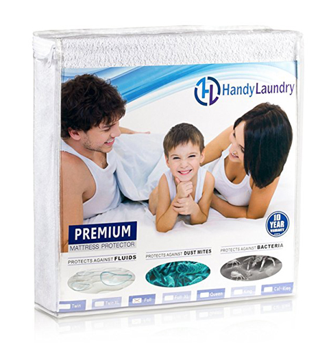 4. Handy Laundry Twin Mattress Protector