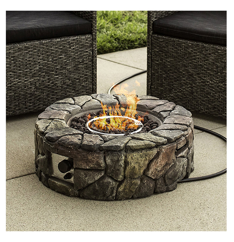 10. Best Choice Products Gas Fire Pit