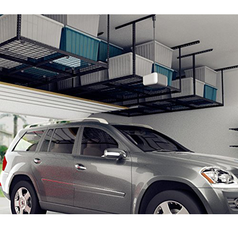 1. FLEXIMOUNTS Overhead Garage Storage Rack