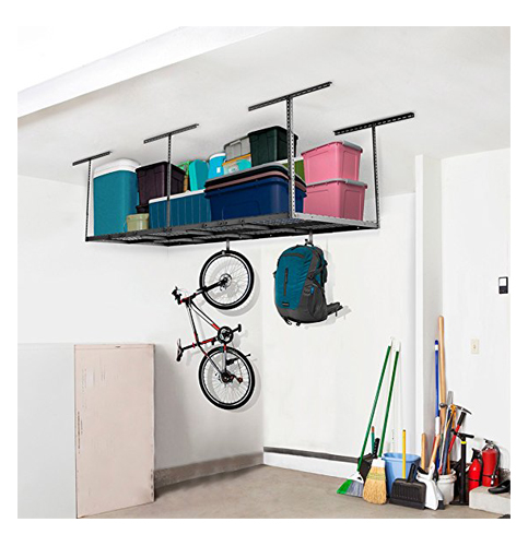 6. FLEXIMOUNTS Overhead Garage Storage Rack (3x8)